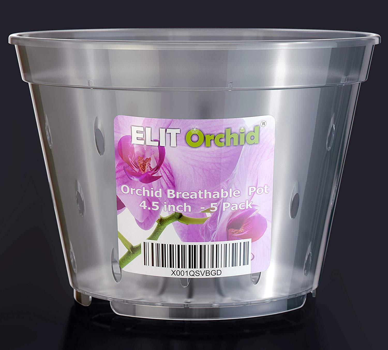 orchid pots, 4.5 inch orchid pot