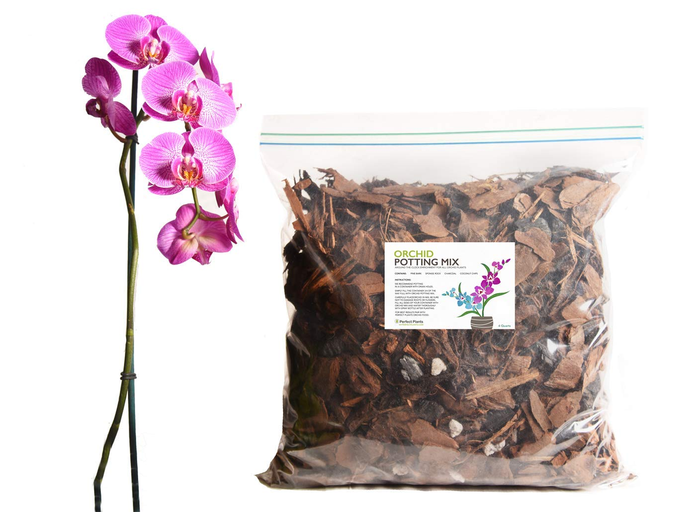 perfect plants orchid mix
