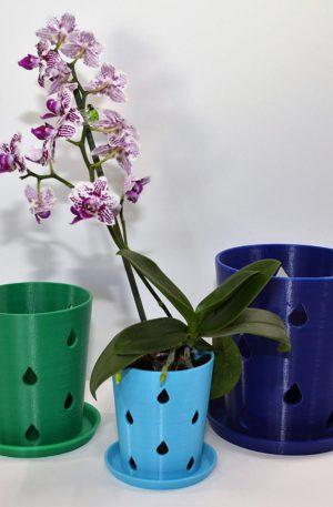 plastic orchid pots