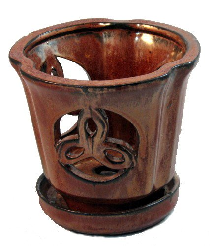 ceramic orchid pot