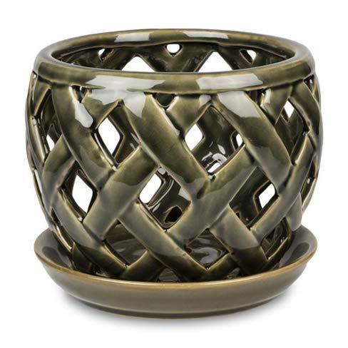 pennington bronze orchid pot