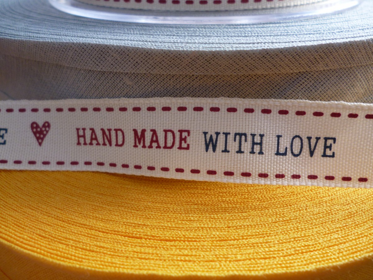 """Gotta Be Handmade""® With Love"