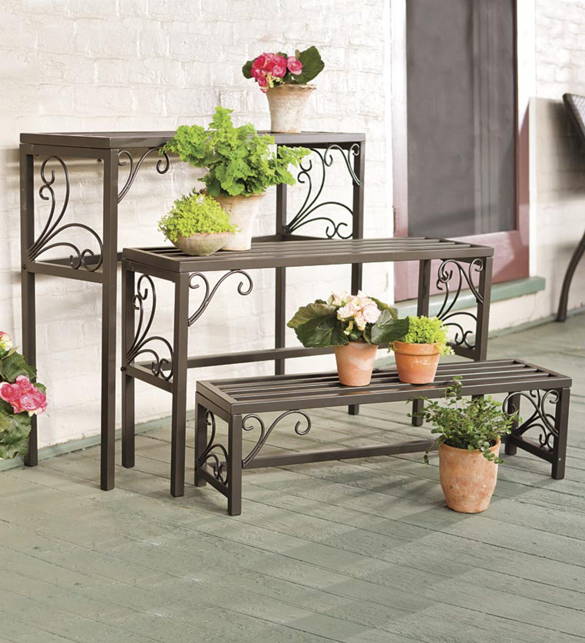 steel plant stands